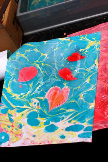 Falling leaves art painting №50917