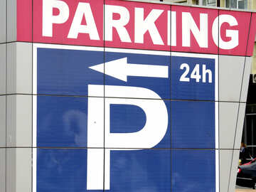 Parking sign №50771