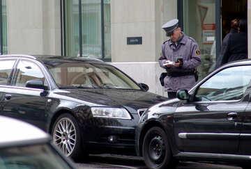 Penalización por estacionamiento №50242