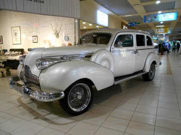 old  car grey retro