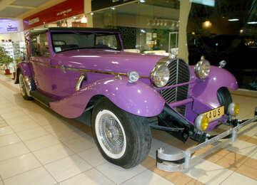 Violet retro  car №50304