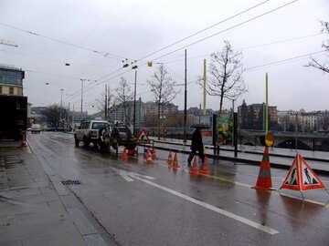Riparazione di strade in Europa №50161