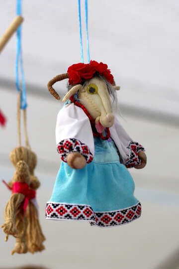steps doll puppet on a string №50987
