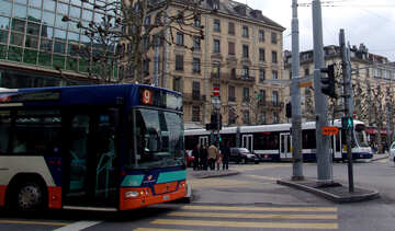 Öffentlicher Verkehr in der Schweiz №50111