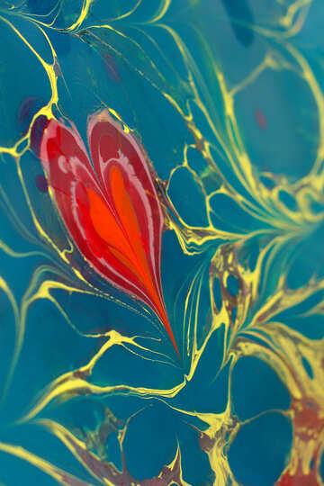 A Heart love swirl texture №50863