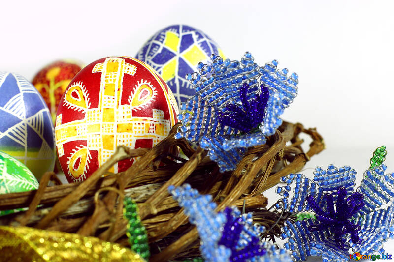 Easter basket eggs №50277