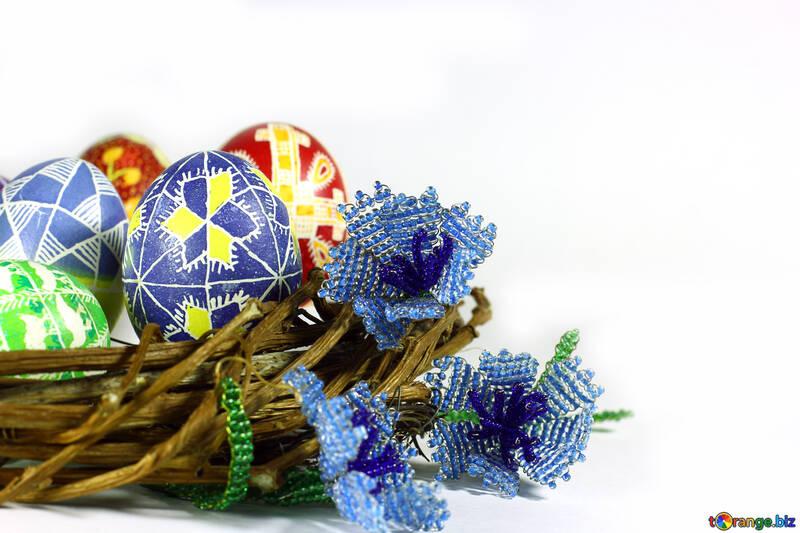 easter eggs flower flowers №50275