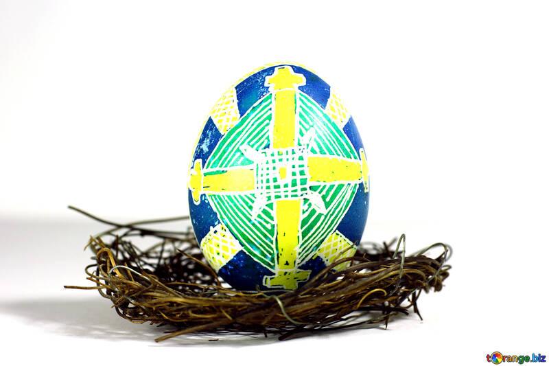 Easter egg  on nest №50265