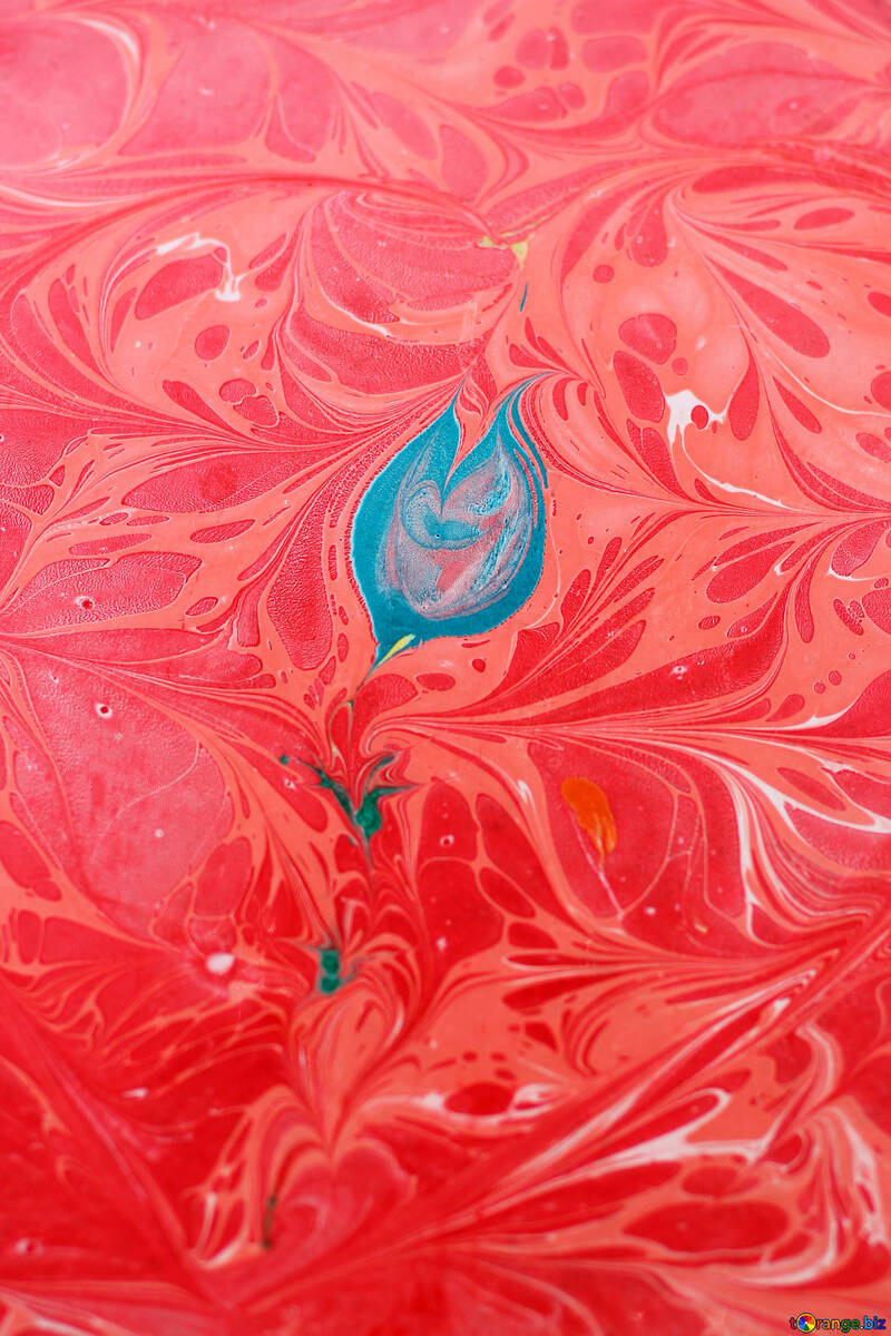 art red background №50871