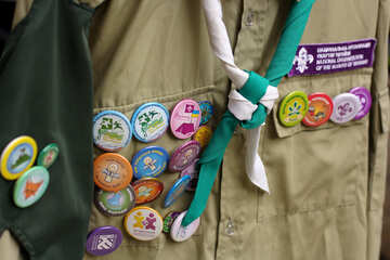 scarf scout badges №51041