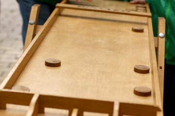 Holzbrett Tischspiel №51016