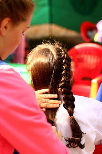 Braiding hair №51068