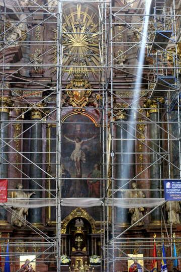 Building frame scaffolding frame №51846
