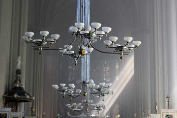 Church chandelier lamp №51679