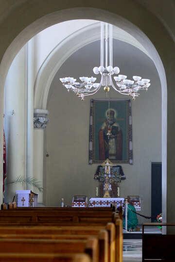 Church interior altar №51697