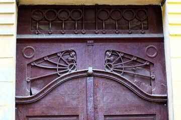 double door gate №51745