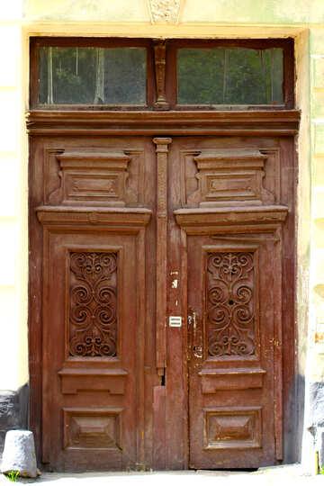 Old  door texture №51747