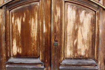 Wooden doors old texture №51815