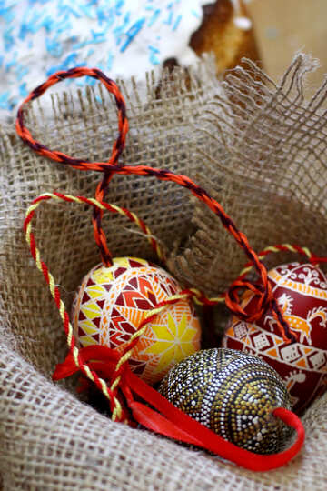 easter eggs basket №51222