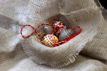 Easter eggs beads №51219