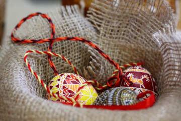 Strings yarn balls egg №51221