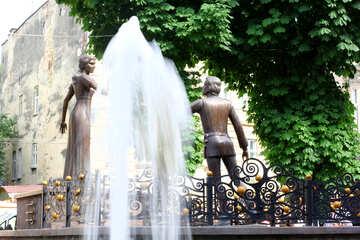 Fountain people Tree №51792