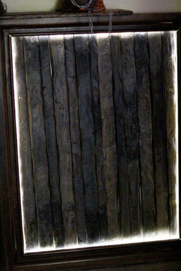 Bilderrahmen schwarz leuchtet №51980