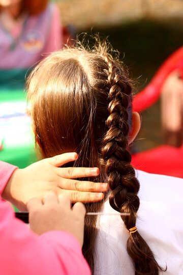 hairbraiding comb hair №51067
