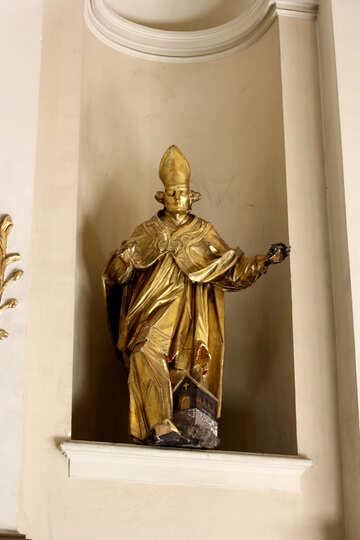 Statua di idolo d`oro №51606