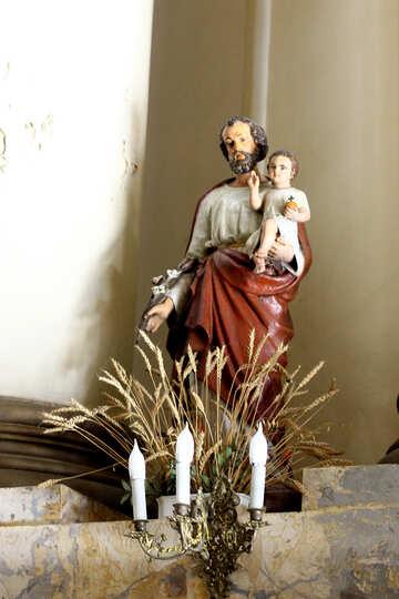 Heiliger Joseph und Jesuskind №51607