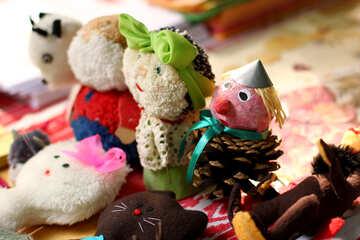 Stuffed animals kids craft №51019