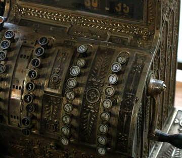 Vintage  machine cash register №51657