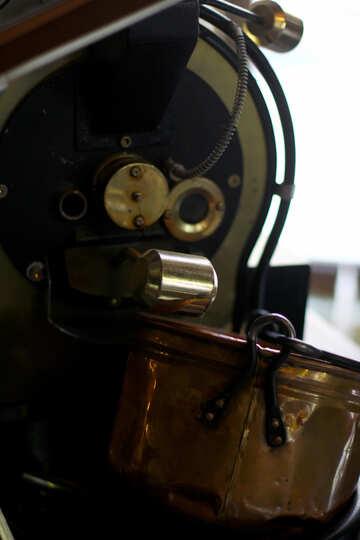 Brown thing mechanism machine Engine №51958