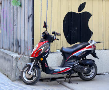 Motocicletta moto ciclomotore №51999
