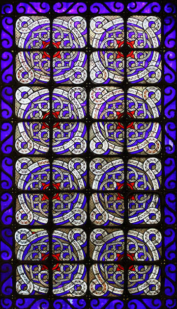 Mural pattern square circle №51613