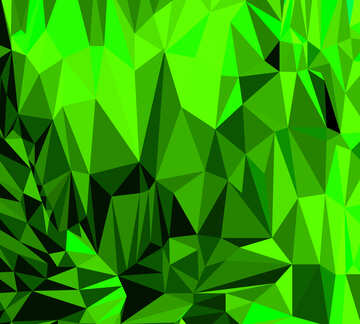 Polygon background with triangles Yellow
