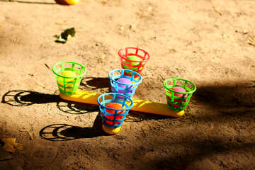 baskets, cups, sand volani balls №51101