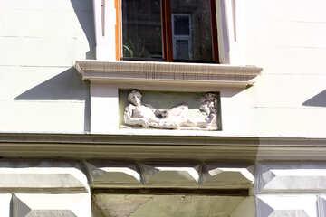Estante de la ventana estatua №51643