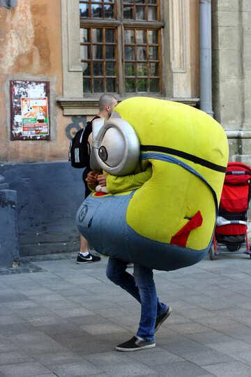 Someone in minion costume №51941