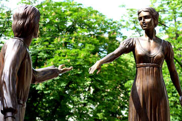 Statues lady №51800