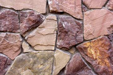 Rocks stone wall №51729