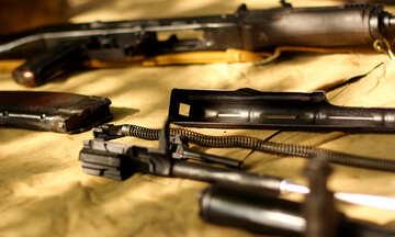 weapons tools guns