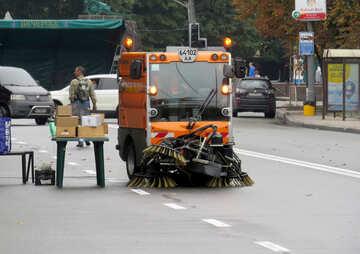 truck street cleaner №51248