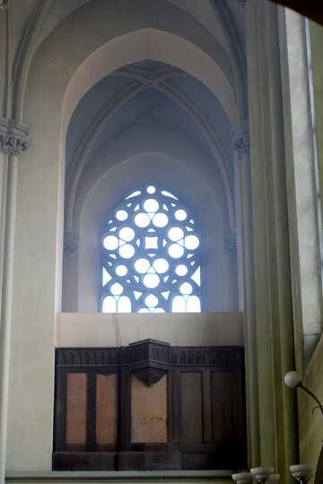 Chiesa finestra all`interno di vetro №51711