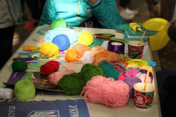 wool art cup knitting supplies №51046