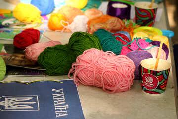 wool yarn №51045