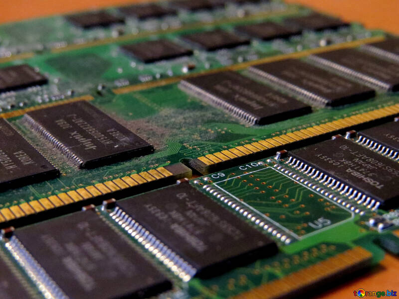 Circuit board memory electronic №51601