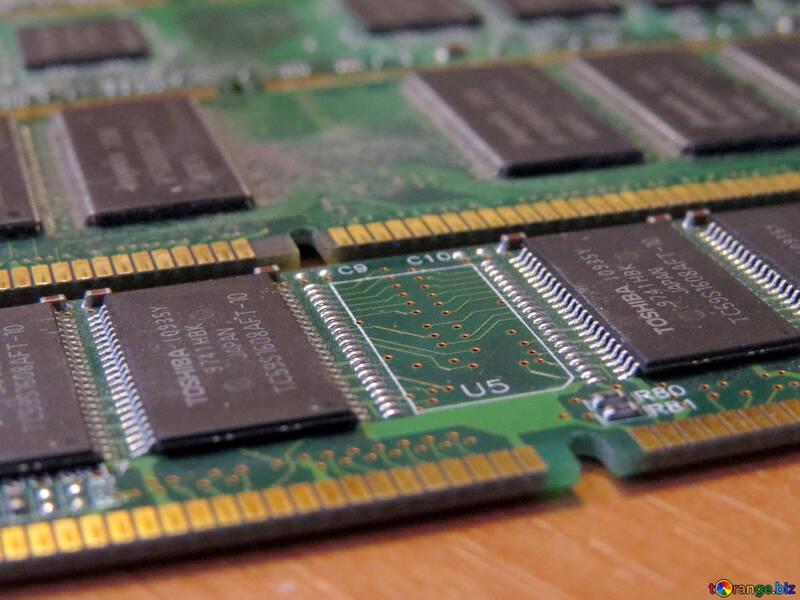 Memory  chip circuit board №51599