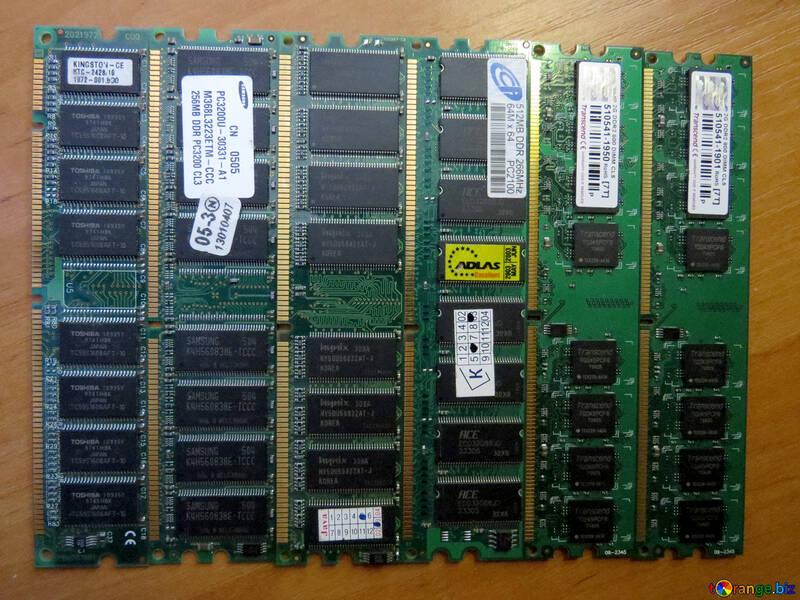 Chips Memory RAM Hardware №51588