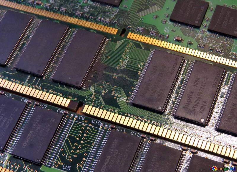 Electronics circuit board memory drive №51594